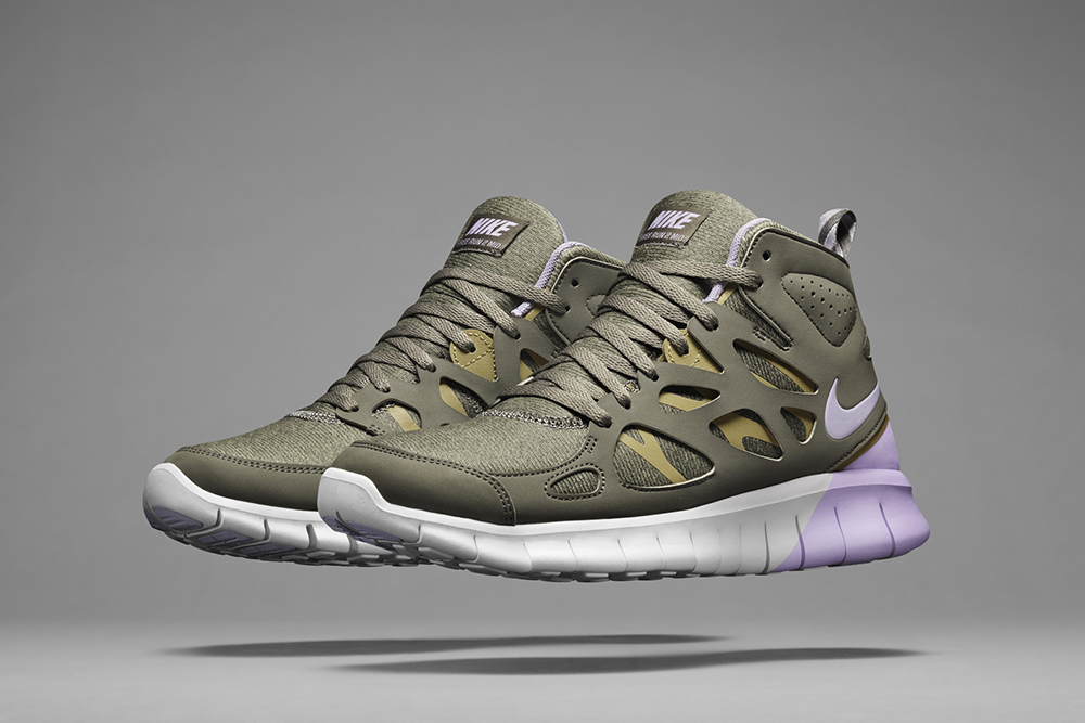 Nike SneakerBoot FallWinter 2013 Collection Fresh Trax Design