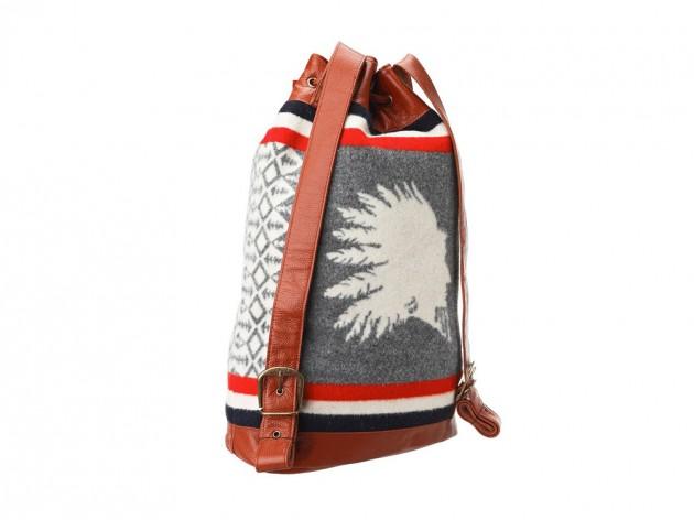Pendleton Drawstring Heroic Chief Backpack Fresh Trax Design
