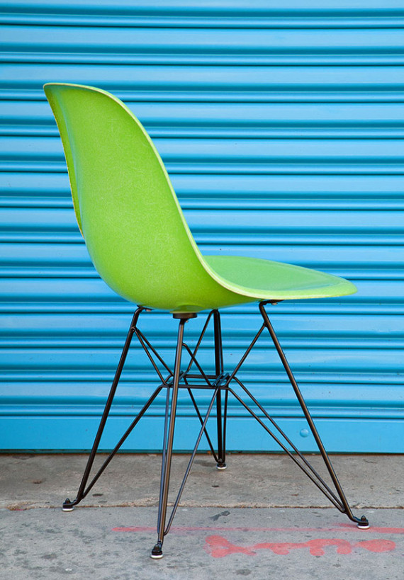 HUF X Modernica Fiberglass Shell Chair Fresh Trax Design